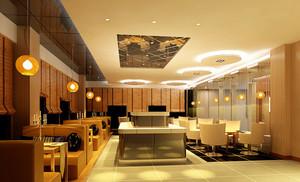 咖啡厅装修案列设计效果图