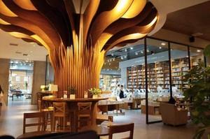 书店装修案列效果图赏析