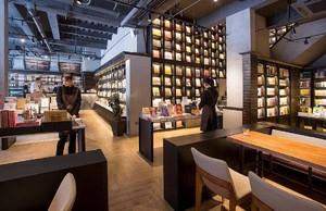 中式简约风格书店装修效果图赏析