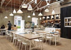 咖啡厅创意装修效果图案例