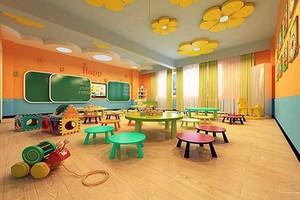 幼儿园自然风格装修效果图赏析