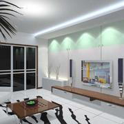 清新客厅装修风格效果图赏析