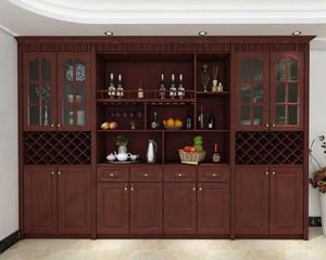 中式酒柜設計效果圖賞析