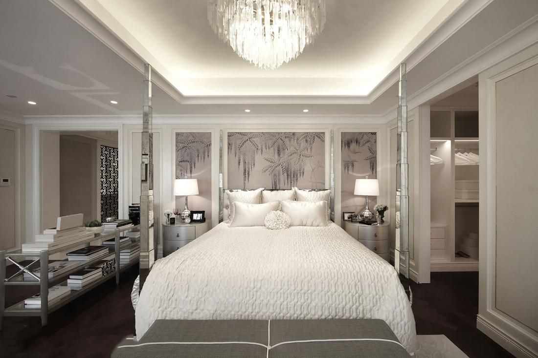 欧式卧室书房装修效果图