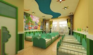 清新自然风格幼儿园室内装修效果图