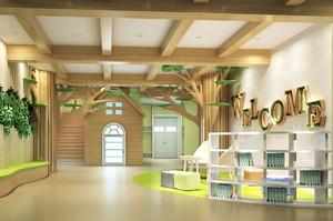 自然幼儿园室内装修效果图赏析
