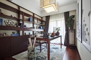 中式书房装修效果图片