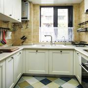 厨房现代局部不规则户型装修