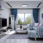 空间其他地中海窗帘90平米装修