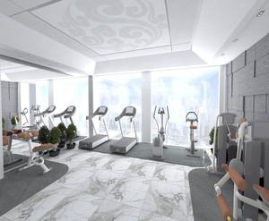 健身房精装设计图
