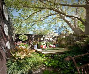50平米私家花园实景图