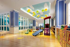 幼儿园室内装修效果图赏析