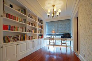 大户型简欧书房装修效果图