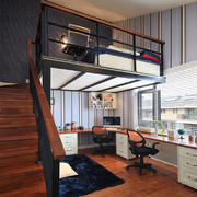 书房现代局部公寓装修