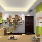 书房现代局部大户型装修