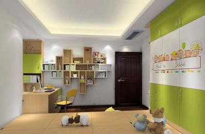 儿童书房装修效果图