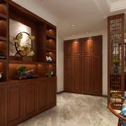 空间其他中式酒柜三居室装修