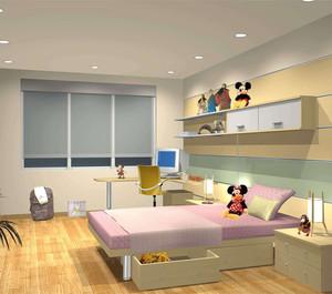 多風格兒童房裝修設計效果圖