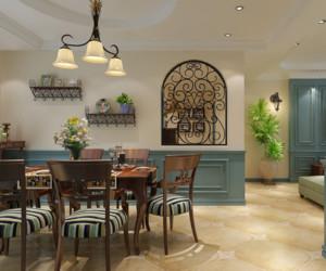 混搭风格家庭餐厅装修效果图