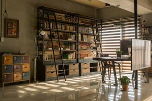 复古风书房装修图
