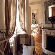 空间其他现代窗帘70平米装修