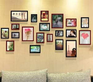 照片墙组合效果图