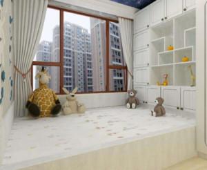 100平米日式风格卧室榻榻米装修效果图