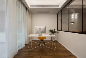 现代感阳台书房装修图