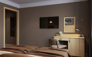 酒店装修室内效果图赏析