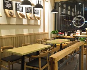 60平米简约风格面包店装修设计效果图