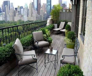 阳台小清新花园
