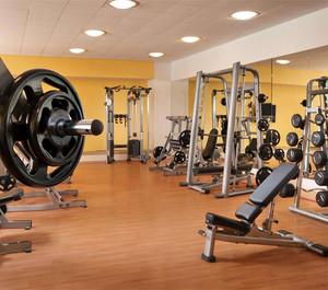 小型健身房设计装修效果图