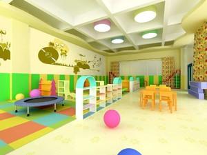简约幼儿园装修效果图赏析