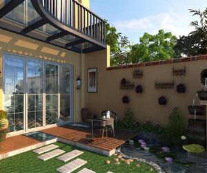 小别墅花园设计