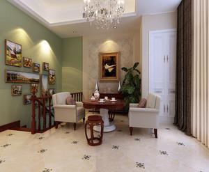 简欧客厅装修设计效果图