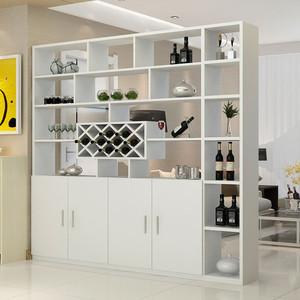 白色中式酒柜装修效果图赏析