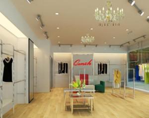 90平米现代简欧风格服装店装修设计效果图