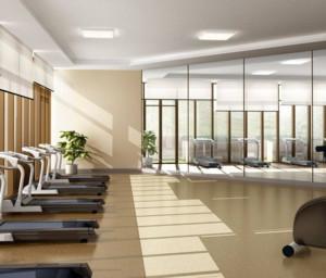 140平米都市风格健身房装修效果图