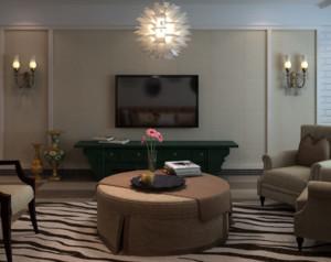 现代风格会客厅装修设计效果图