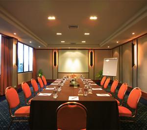 简约风格会议室装修效果图