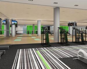 简欧风格健身房装修设计效果图