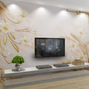 空间其他简约电视墙90平米装修