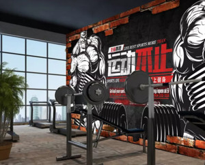 美式风格健身房装修设计效果图