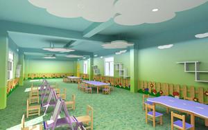 简约风格幼儿园室内设计效果图