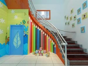 幼儿园楼梯设计效果图赏析