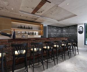休闲咖啡厅装修设计效果图