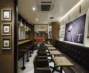 简约风格咖啡厅装修设计效果图