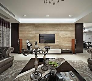多种风格电视背景墙装修效果