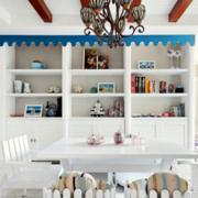地中海风格家装餐厅装修效果图