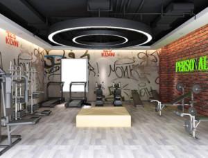 都市健身房装修设计效果图